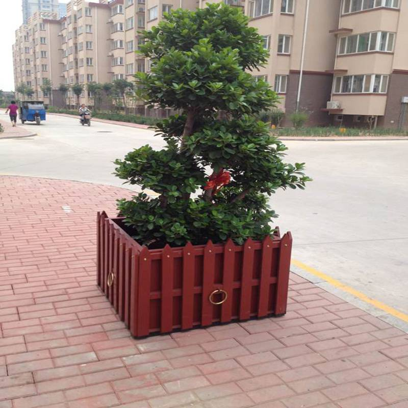 (国标品质)花箱厂家现货,实木组合花箱招经销商,经销