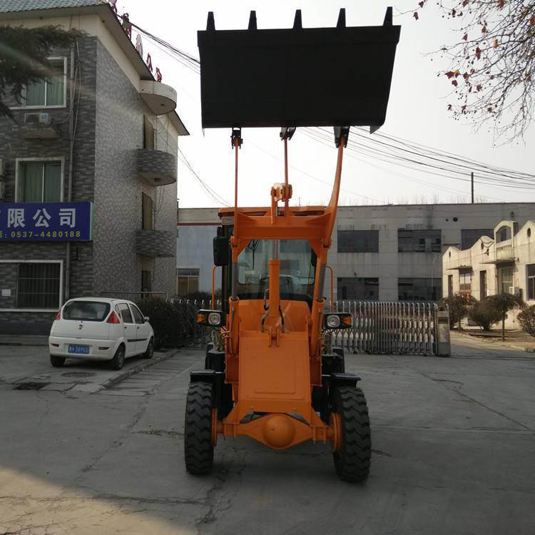 全新农用夹木机旭阳ZL10柴油装载机混凝土接料车小型铲车
