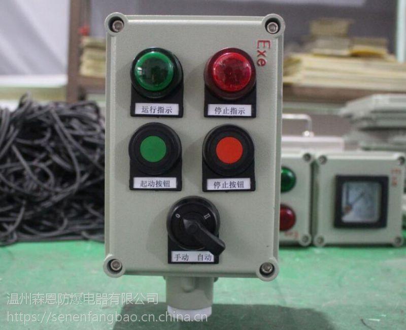 森恩防爆操作箱两灯两钮