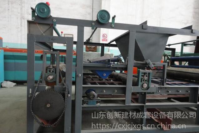 山东菱镁板成型机、菱镁板生产机械设备源于创新公司