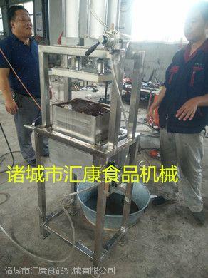 供应鱼豆腐切片机 汇康牌千叶豆腐切块机 休闲食品加工设备