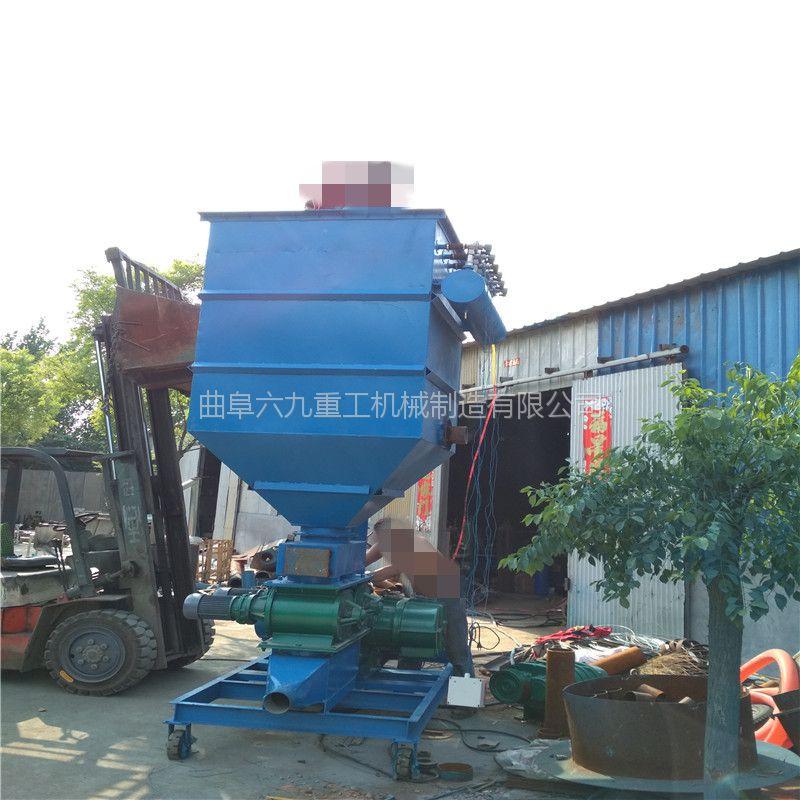 清河大型粮库用移动式气力吸粮机 六九加长软管式风力输送机