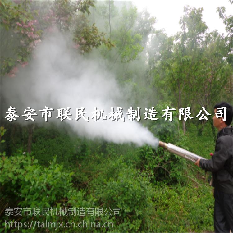 脉冲双管弥雾机 高效迷雾机商品图 泰安联民