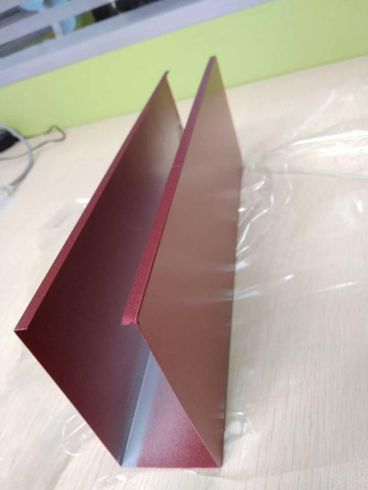 仿木纹色铝方通天花吊顶订做厂家