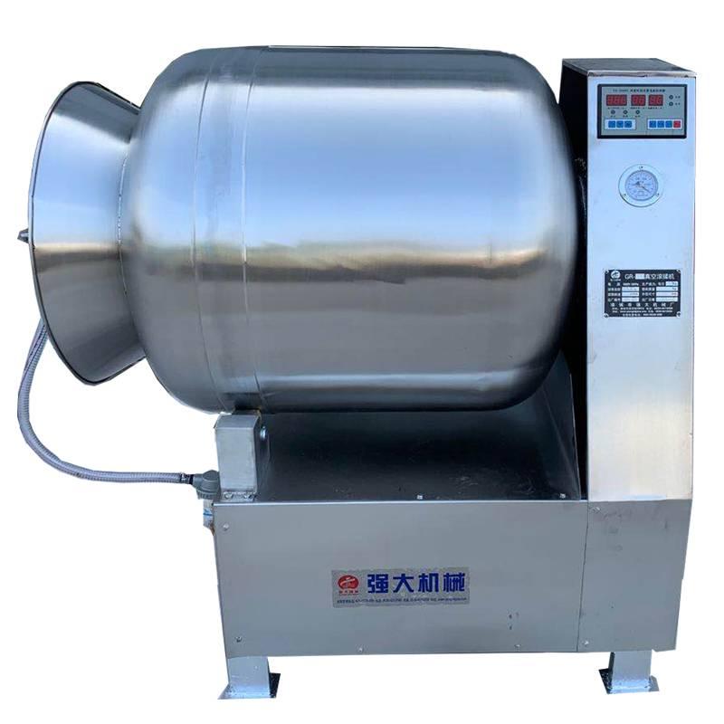 河南真空滚揉机 800型全自动腌渍机 肉制品加工滚揉机