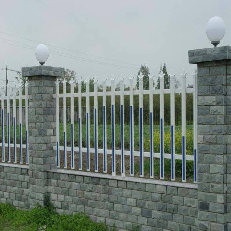 四川自贡富顺院墙围栏围墙护栏大门,用什么材料做