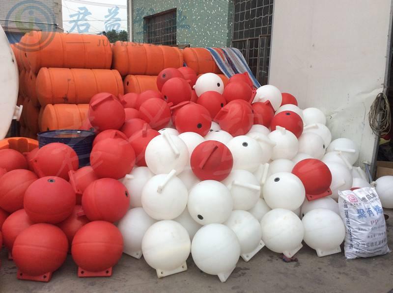 天津直径30公分海上浮球 双耳空心浮球