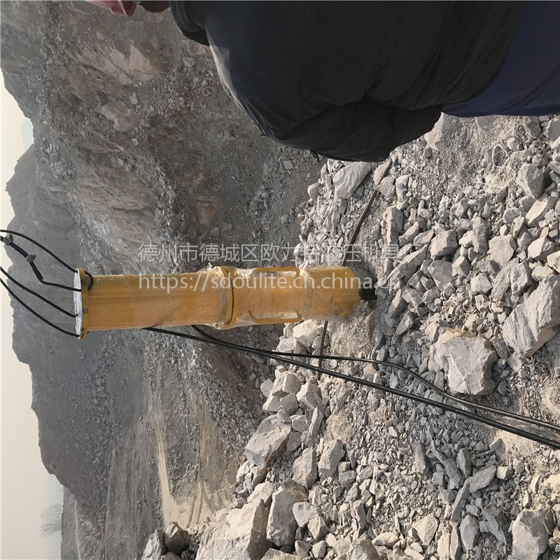 辽宁丹东大力度混凝土劈裂机大型岩石破碎机厂家直销