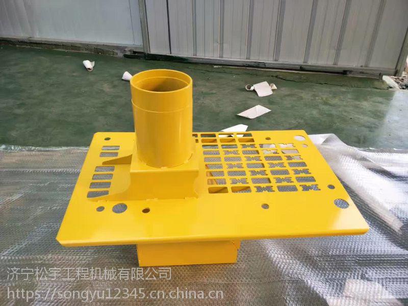 济宁松宇供应小松挖掘机配件 pc360-7预滤器支架 原厂品质