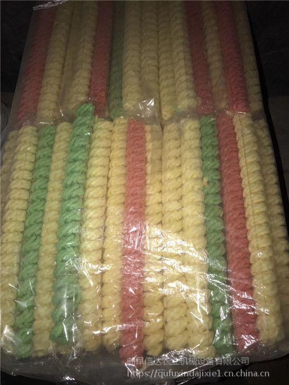 信达机械配件玉米螺杆螺套价格玉米大米混合膨化机 自熟飞刀5-10公分信达
