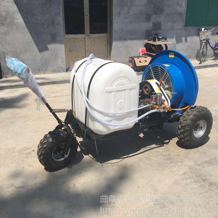 高和县手推自走式果园喷雾器 启航蔬菜大棚喷药机 打药机多少钱一套