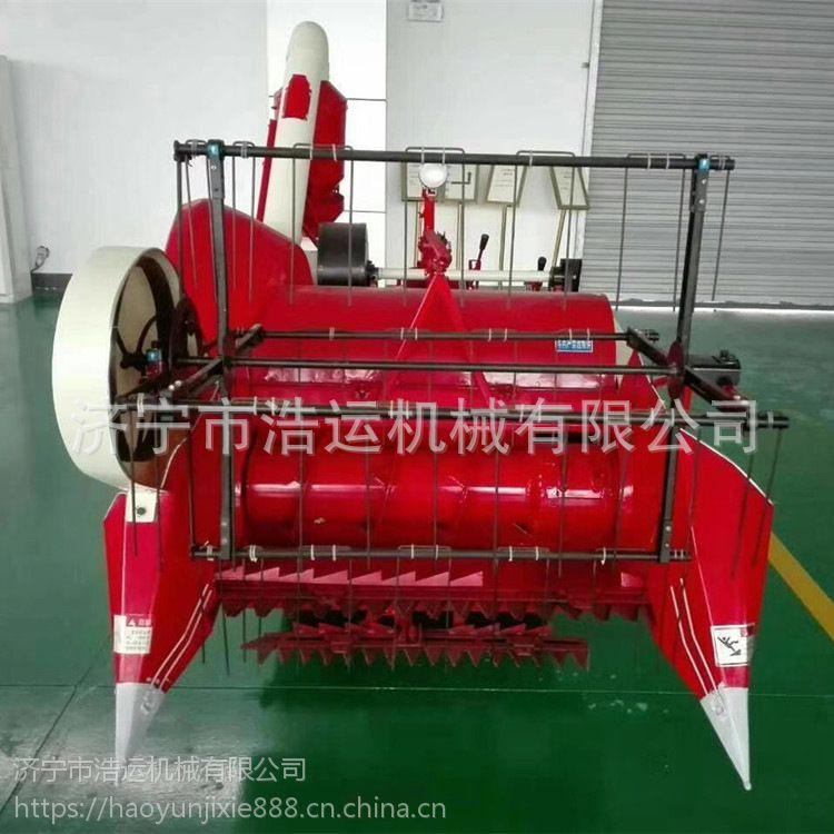 新款座驾式小麦联合收割机 自动脱粒自动装袋水稻联合收割机 现货