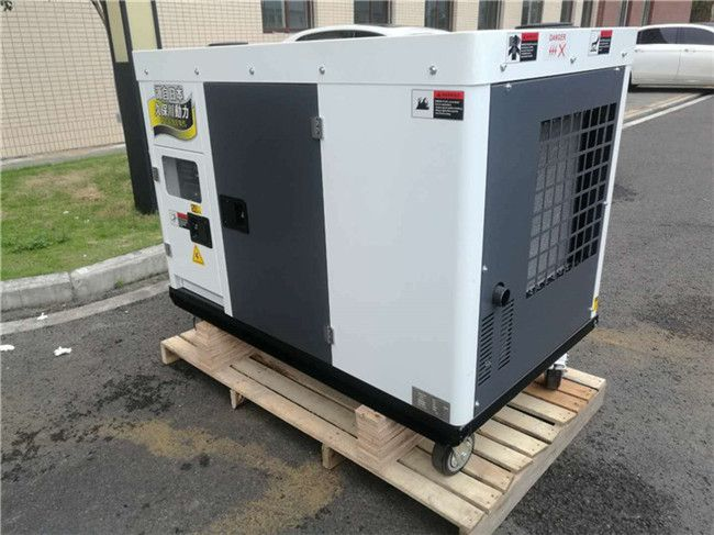 工业用电35kw静音柴油发电机