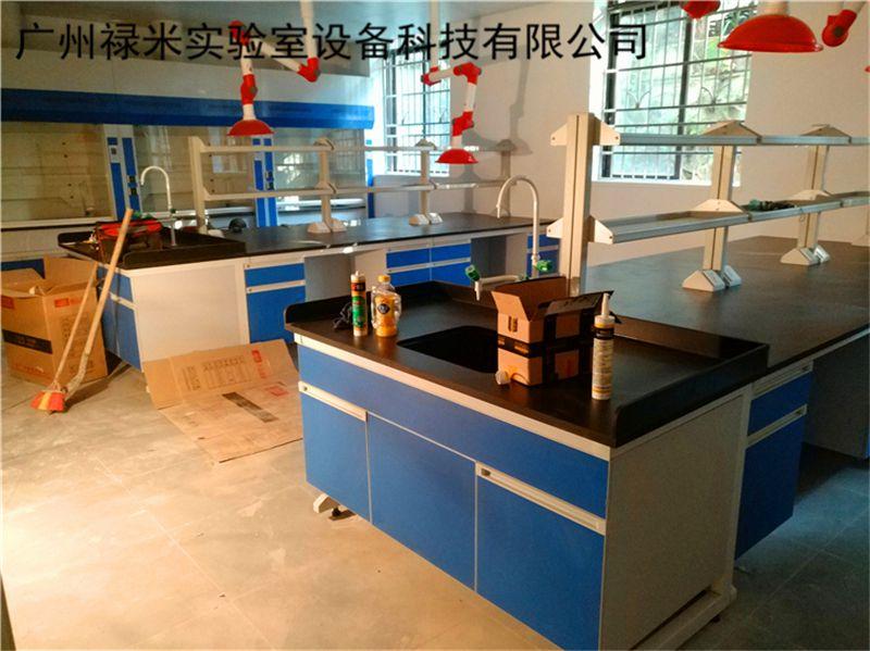 广州禄米实验室家具安装现场