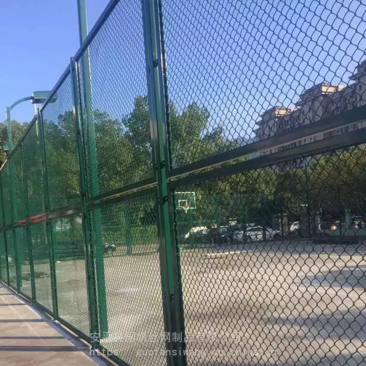 生产厂家勾花网护栏价格 {国帆}足球场护栏网