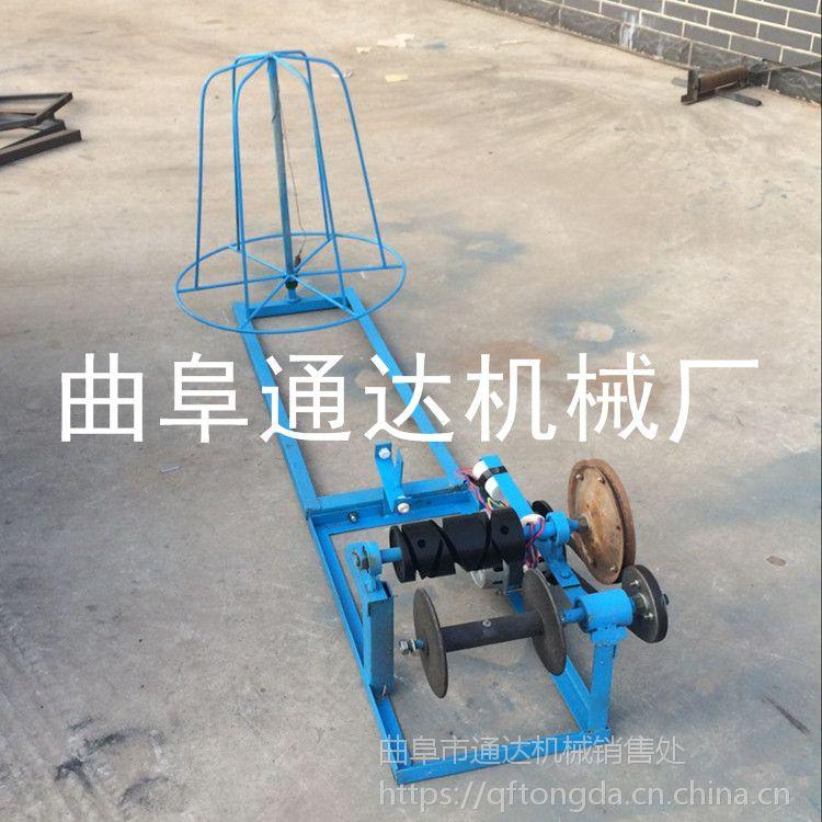 芦苇稻草草帘机批发市场通达 抚顺养殖专用草帘机 热销优质稻草编织机