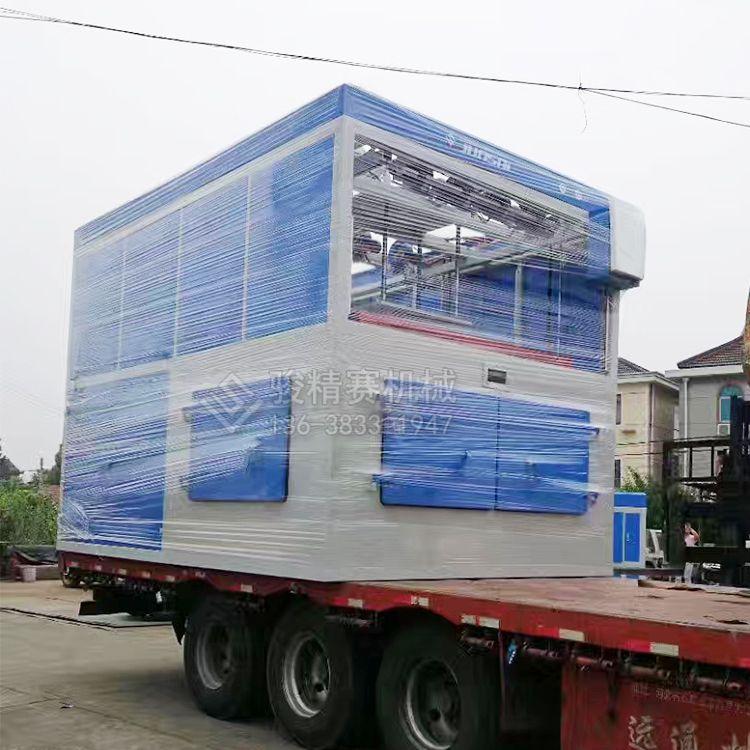 HDPE物流栈板吸塑机 塑料叉车周转托盘吸塑成型机器 包安装培训