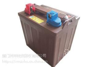 漳州电动叉车电瓶回收,林德牌叉车电池回收,牵引车电池回收