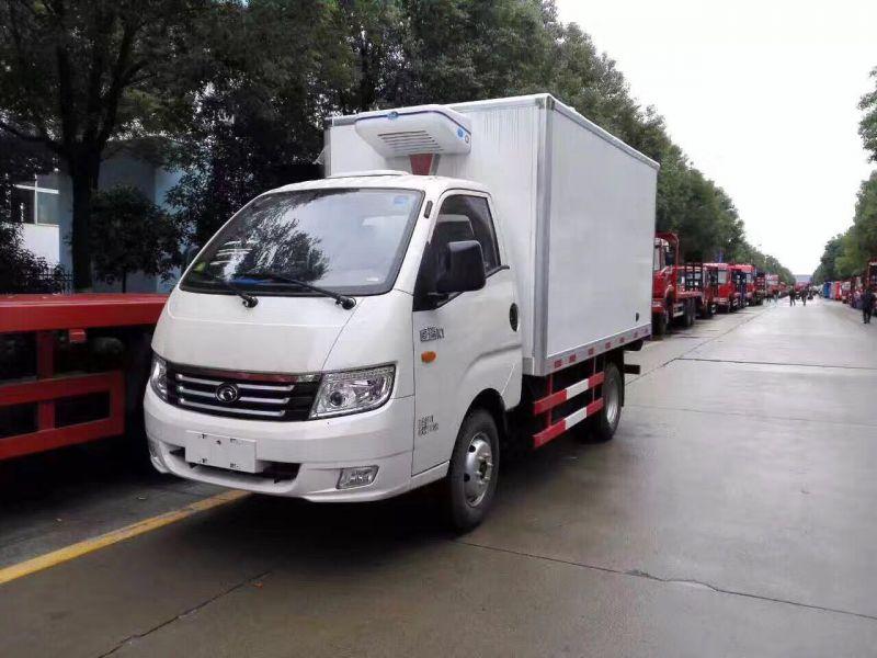 福田3米5冷藏车福田康瑞KQ1蔬菜水果冷链运输车厂家直销排量2.0L