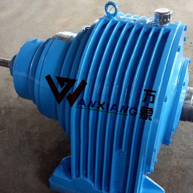 卧式三级减速器NGW73行星齿轮减速机,小型低噪音运转万象厂家