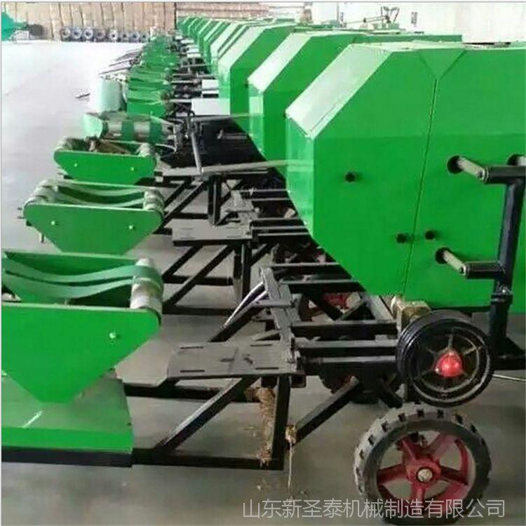 供应圣泰机械 型号不一 打捆包膜机 玉米秸秆打捆机