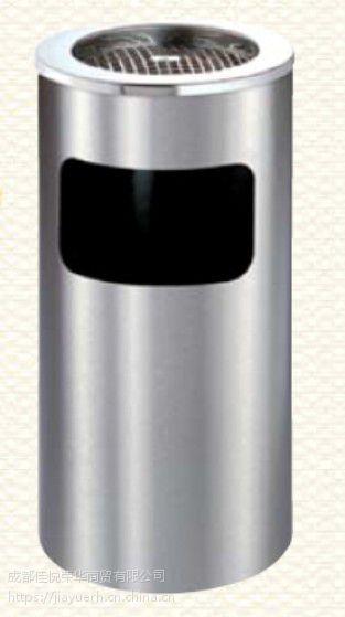 不锈钢果皮垃圾桶 加厚烟灰垃圾桶 丽格垃圾桶 多省市包邮