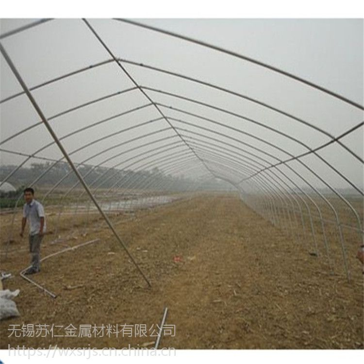 【连栋大棚】厂家直供热浸镀锌新型温室大棚GP825养殖连栋大棚