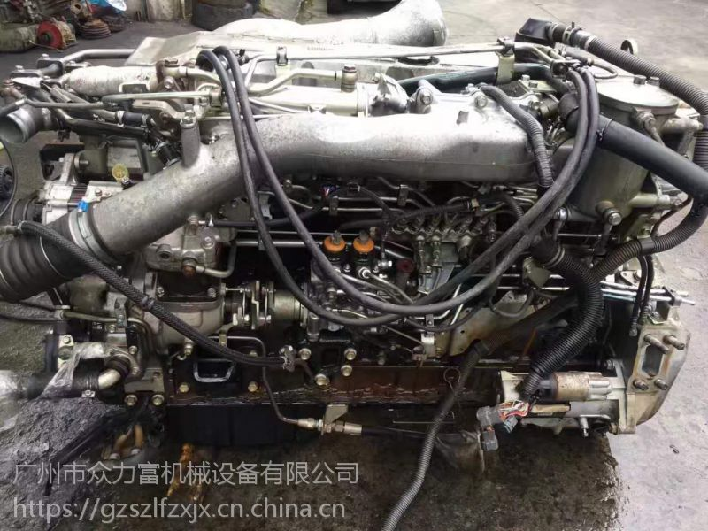 五十铃发动机总成 6WF1T泵车发动机