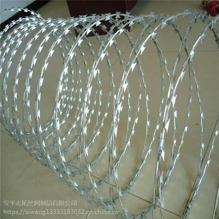 蛇腹型刀片刺网@霸州蛇腹型刀片刺网生产@蛇腹型刀片刺网生产厂家