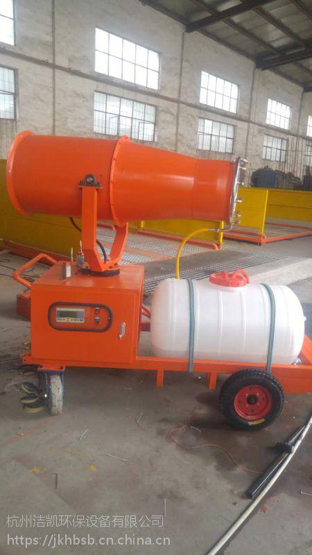 浙江绍兴水雾除尘雾炮机维护简单 工地喷雾机安全可靠
