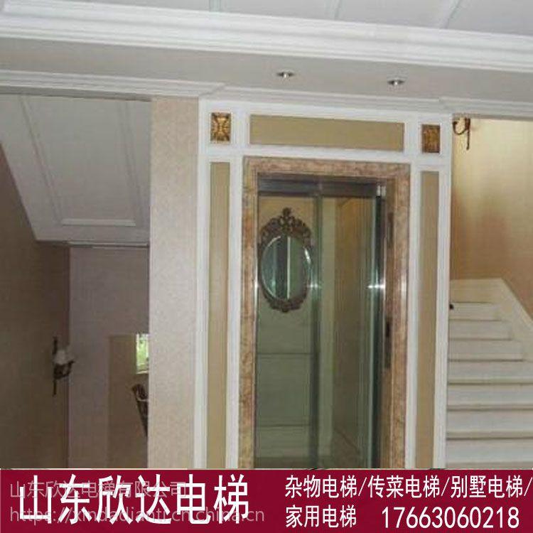 曳引龙门架式别墅电梯小机房-山东欣达电梯