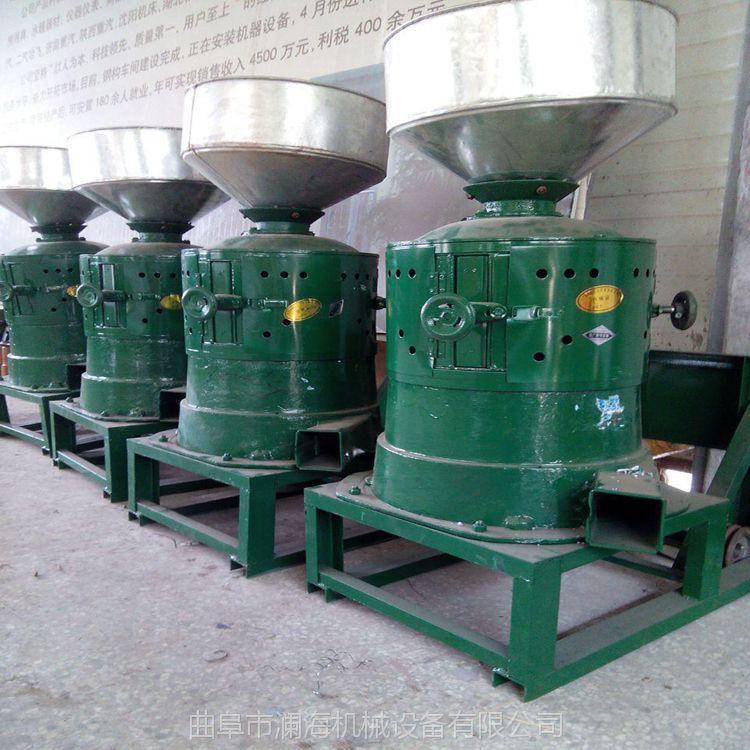 粮食去皮碴子机米机 家用两相碾米机 小型谷物碾米机