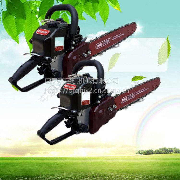 手持式断根挖树机 带土球移苗机厂家 启航家用铲头式挖树机