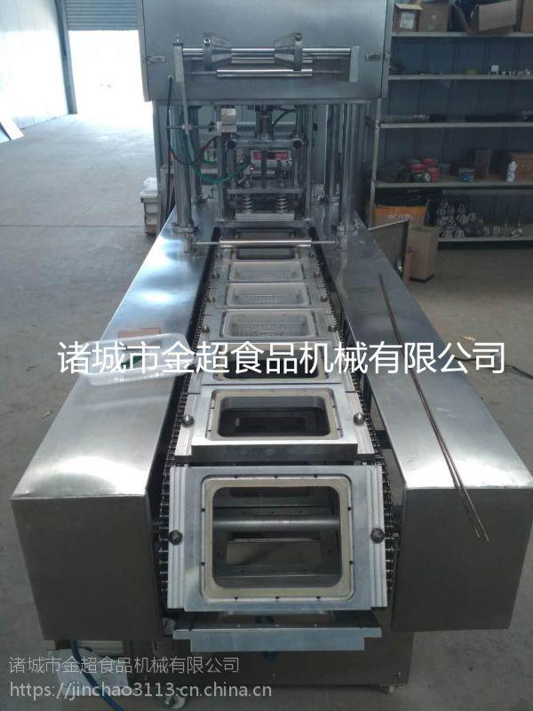 金超JCFH-2快餐自热面条封盒包装机