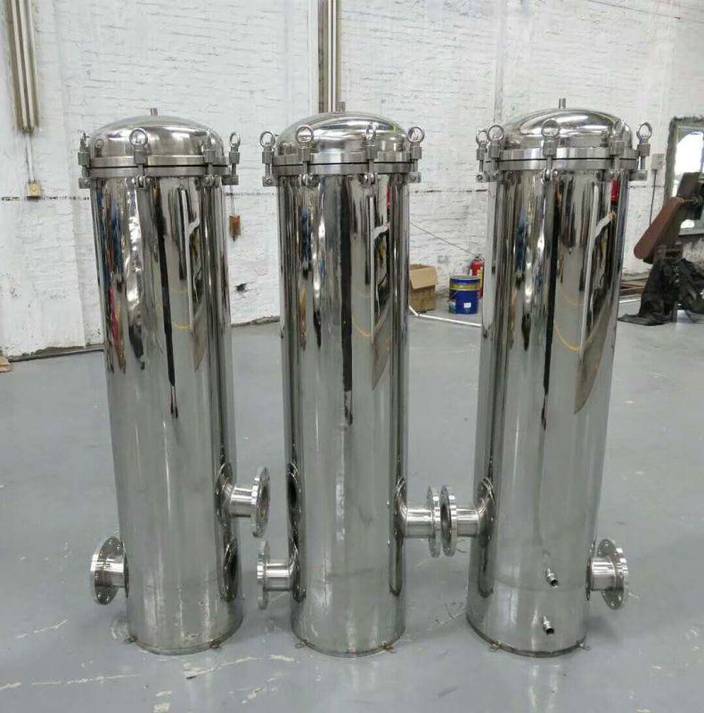 厂家批发 304不锈钢精密保安过滤器农村井水自来水家用前置大型水处理净水器 广旗
