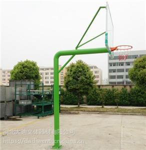 北京体育场专用篮球架 钢 地埋式 河北大迪牌