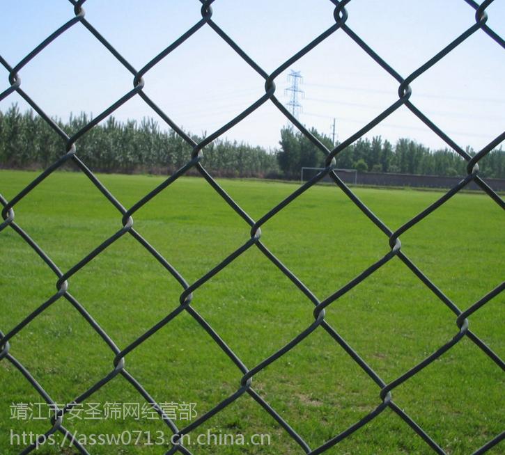 在泰州买球场护栏网 体育场围栏 运动场铁丝围栏网 就找靖江安圣筛网可安装