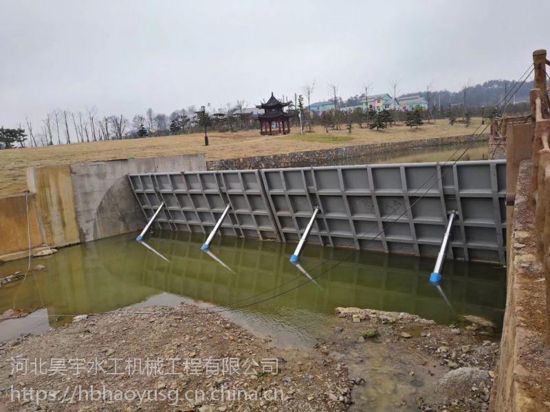 河北昊宇水工机械工程液压升降坝厂家销售