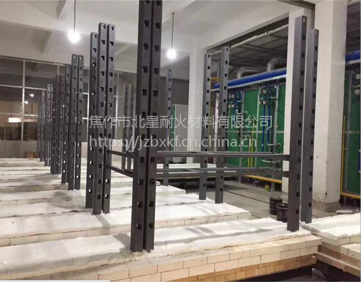 北星厂家碳化硅多孔立柱 ,反应烧结碳化硅多孔横梁 耐1380(℃)