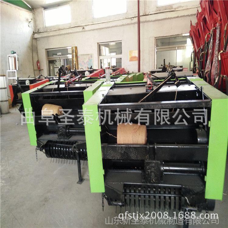 拖拉机行走式苞米秸秆捡拾收割打捆机 秸秆粉碎圆捆机厂家供应