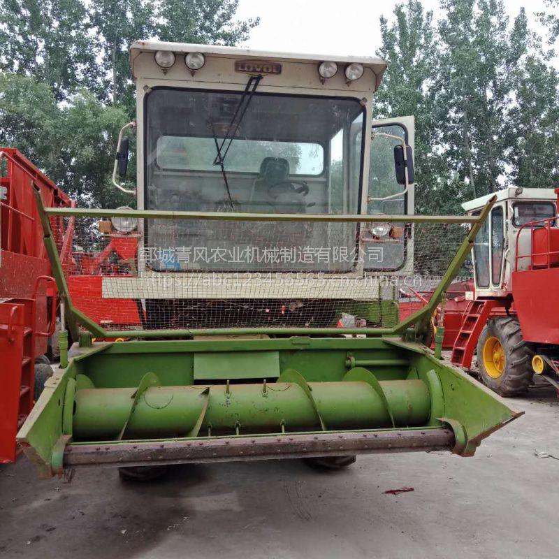 山东青风厂家直销稻草,秸秆小麦收割青储机 大型自走式自动饲料青储机