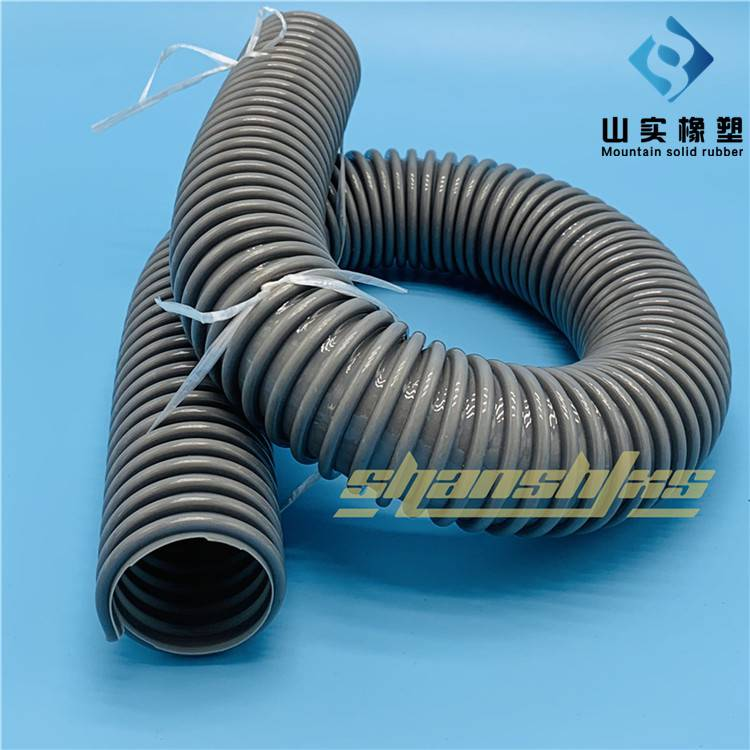 工业防静电塑筋通风除尘管 聚氨酯阻燃软管 透明防腐软管 塑筋增强管厂家