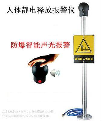 PS-A人体静电释放器/本安型防爆人体静释放报警器