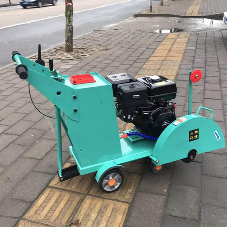 天德立KWJ-Q500型汽油马路刻纹机 18公分路面切割刻纹一体机