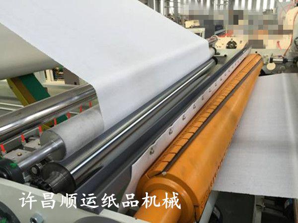 全自动卫生纸生产设备 许昌顺运全自动卫生纸加工设备的使用方法