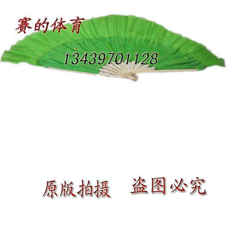 【赛的体育秧歌扇子木兰扇加厚竹柄打磨锁金刘英花样滑冰世青赛图片