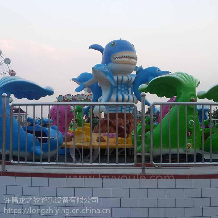 龙之盈游乐供应 LZY_JZSYD_7户外儿童游乐设备激战鲨鱼岛
