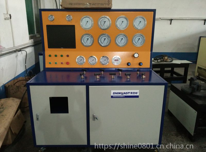 安全阀定压校验台 高压安全阀检测设备