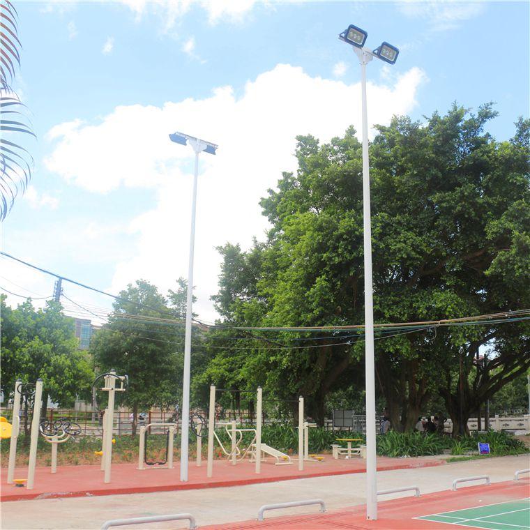 海南灯杆道路灯杆 马路灯杆监控杆 篮球场灯杆6米7米8米9米路灯杆报价