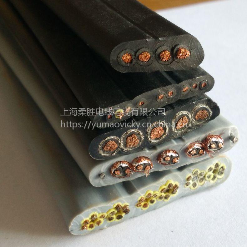 电梯专用圆形带钢丝16芯0.5/0.75/1.0/1.平方trvv拖链电缆